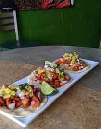 Al Pastor & Pineapple Pico Tacos